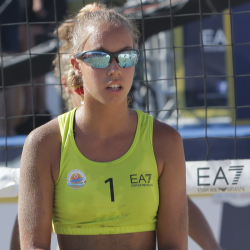 Anna Piccoli in Nazionale Beach Volley Juniores alle Beach Winter Series