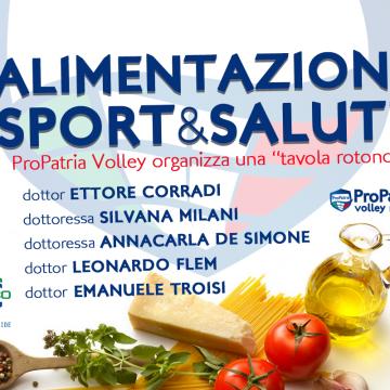 Tavola Rotonda: Alimentazione Sport & Salute