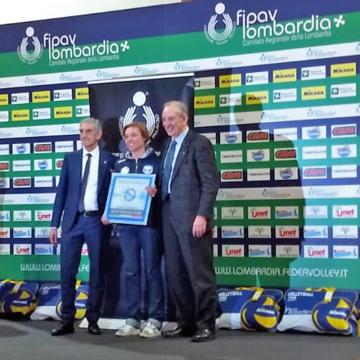 Certificato Qualità Oro per Pro Patria Volley Milano