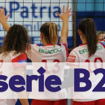 BRACCO Pro Patria Volley torna in serie B2!