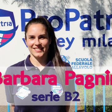 Barbara Pagnin è il primo tassello della serie B2!