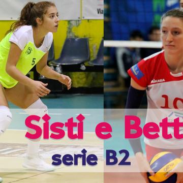 Michela Sisti e Francesca Betti: due under19 in serie B!