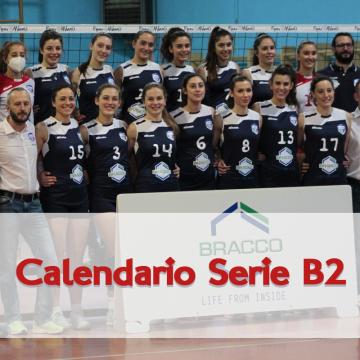 Calendario gare Serie B2: al via il 23 gennaio