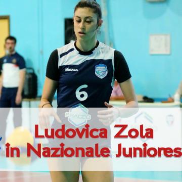 Ludovica Zola convocata in Nazionale Juniores