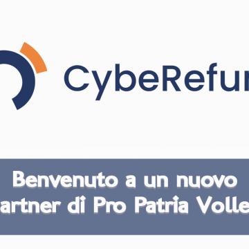 CybeRefund nuovo partner di Pro Patria Volley Milano