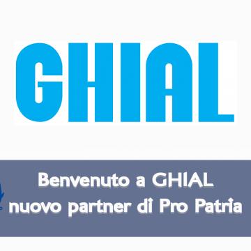 GHIAL nuovo partner di Pro Patria Volley Milano