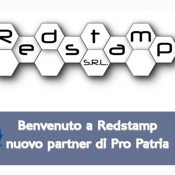 Redstamp nuovo partner di Pro Patria Volley Milano